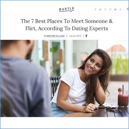 LoveAndMatchmaking on Bustle